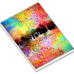 Colorful Tree Landscape Large Memo Pads