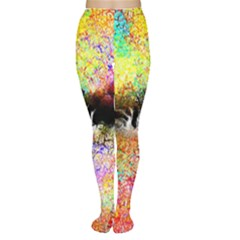 Colorful Tree Landscape Women s Tights