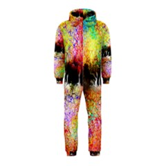 Colorful Tree Landscape Hooded Jumpsuit (kids)