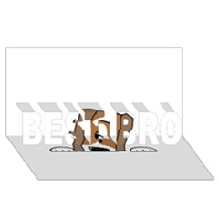 Peeping Shih Tzu BEST BRO 3D Greeting Card (8x4)