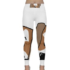 Peeping Shih Tzu Yoga Leggings