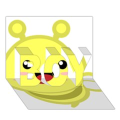 Kawaii Bee BOY 3D Greeting Card (7x5)