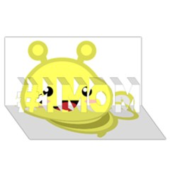 Kawaii Bee #1 MOM 3D Greeting Cards (8x4)