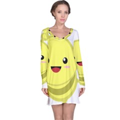 Kawaii Bee Long Sleeve Nightdresses