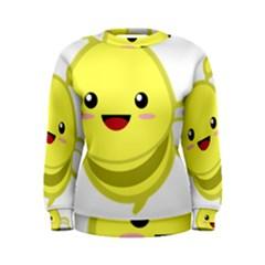 Kawaii Bee Women s Sweatshirts