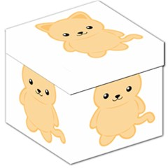 Kawaii Cat Storage Stool 12