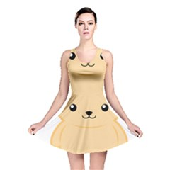Kawaii Cat Reversible Skater Dresses