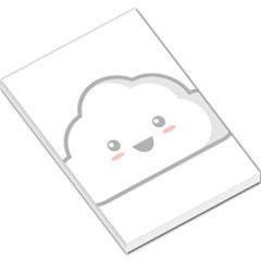 Kawaii Cloud Large Memo Pads