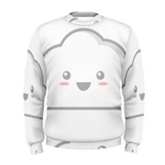 Kawaii Cloud Men s Sweatshirts