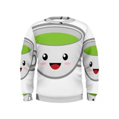 Kawaii Cup Boys  Sweatshirts