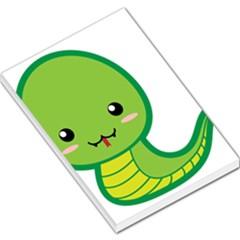 Kawaii Snake Large Memo Pads