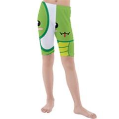 Kawaii Snake Kid s swimwear