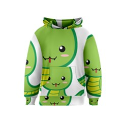 Kawaii Snake Kid s Pullover Hoodies