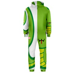 Kawaii Snake Hooded Jumpsuit (men)