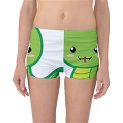 Kawaii Snake Boyleg Bikini Bottoms