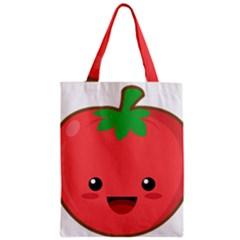 Kawaii Tomato Classic Tote Bags