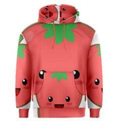 Kawaii Tomato Men s Pullover Hoodies
