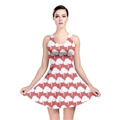 Tree Illustration Gifts Reversible Skater Dresses