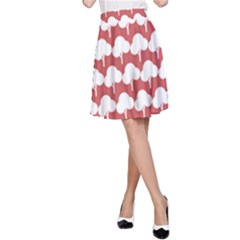 Tree Illustration Gifts A-Line Skirts