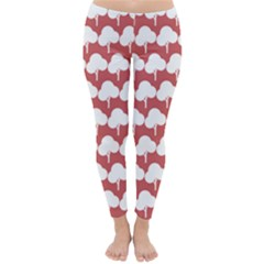 Tree Illustration Gifts Winter Leggings