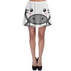 Kawaii Zebra Skater Skirts