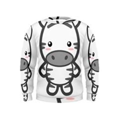 Kawaii Zebra Boys  Sweatshirts
