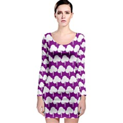 Tree Illustration Gifts Long Sleeve Bodycon Dresses