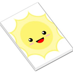 Kawaii Sun Large Memo Pads