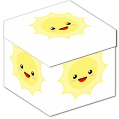 Kawaii Sun Storage Stool 12