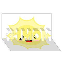 Kawaii Sun #1 Mom 3d Greeting Cards (8x4)