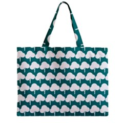 Tree Illustration Gifts Zipper Tiny Tote Bags