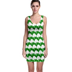 Tree Illustration Gifts Bodycon Dresses