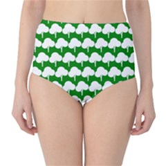 Tree Illustration Gifts High Waist Bikini Bottoms