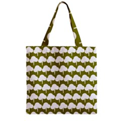 Tree Illustration Gifts Zipper Grocery Tote Bags