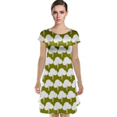 Tree Illustration Gifts Cap Sleeve Nightdresses