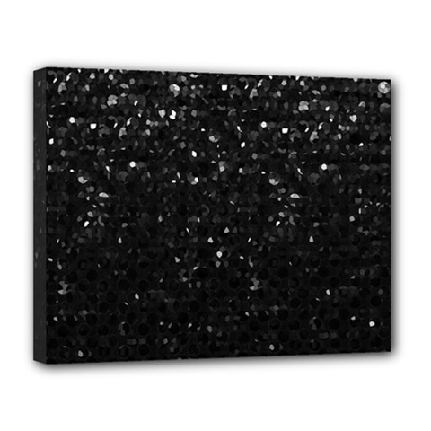Crystal Bling Strass G283 Canvas 14  x 11