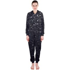 Crystal Bling Strass G283 Hooded Jumpsuit (ladies)