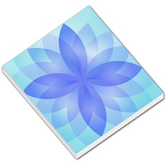 Abstract Lotus Flower 1 Small Memo Pads