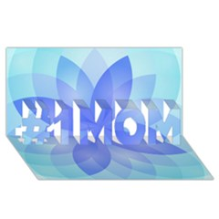 Abstract Lotus Flower 1 #1 MOM 3D Greeting Cards (8x4)
