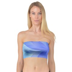 Abstract Lotus Flower 1 Women s Bandeau Tops