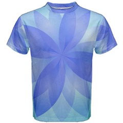 Abstract Lotus Flower 1 Men s Cotton Tees
