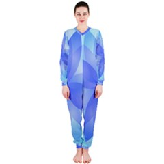 Abstract Lotus Flower 1 Onepiece Jumpsuit (ladies)