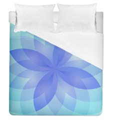 Abstract Lotus Flower 1 Duvet Cover Single Side (full/queen Size)