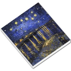 Vincent Van Gogh Starry Night Over The Rhone Small Memo Pads
