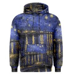 Vincent Van Gogh Starry Night Over The Rhone Men s Pullover Hoodies
