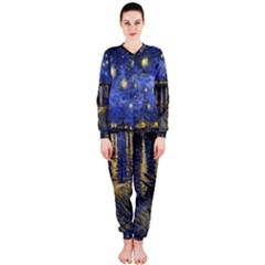 Vincent Van Gogh Starry Night Over The Rhone OnePiece Jumpsuit (Ladies)