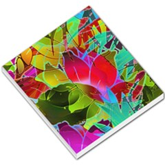 Floral Abstract 1 Small Memo Pads