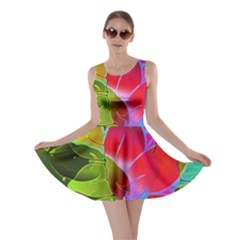 Floral Abstract 1 Skater Dresses