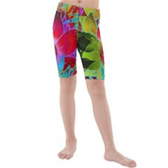 Floral Abstract 1 Kid s Swimwear
