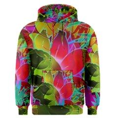 Floral Abstract 1 Men s Pullover Hoodies